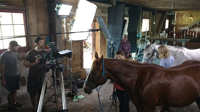 Dreamer behind the scenes of Unbridled